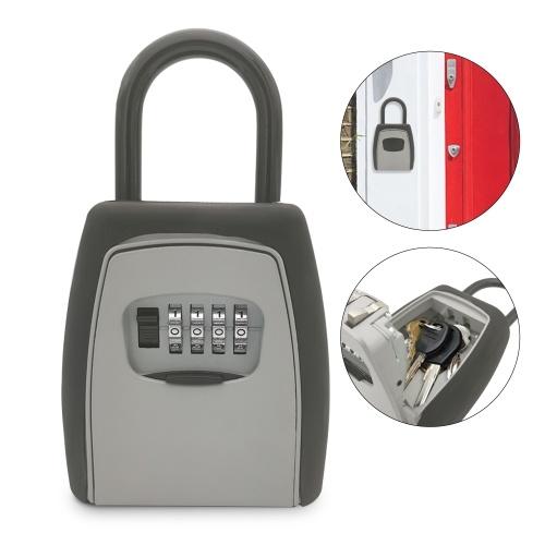 Serrure extérieure clé coffre-fort clés boîte de rangement