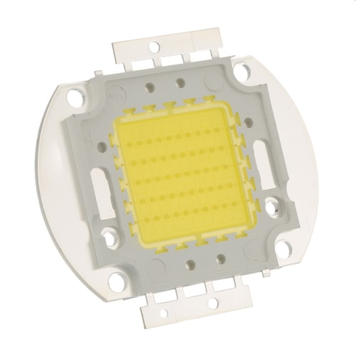 50W High Power LED Integrated Lamp Bead Taiwan Imported Chip 1400-1500mA 32-34V 4600-4800LM for Floodlight Street Mining Light