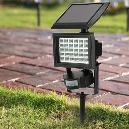 Outdoor Security Floodlight PIR Motion Sensor Lawn Light