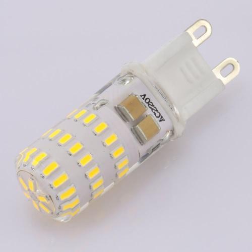 220V G9 Base 3014 SMD LED Silica Gel Mini Corn Light Bulb for Pendant Chandelier Desk Table Decoration Lamp