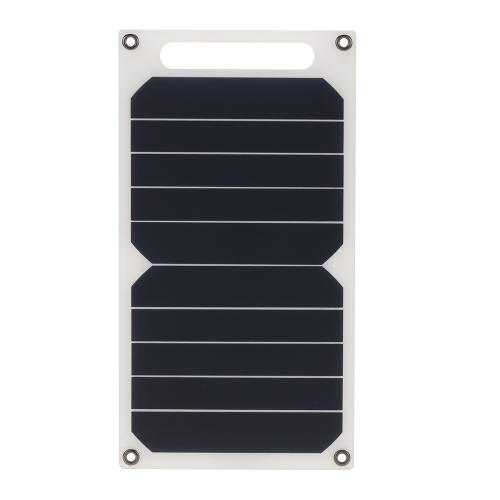 Docooler Solar Charger 10W Portable Ultra Thin Monocrystalline Silicon Solar Panel 5V USB Ports for iPhone 6s/6/Plus iPad Galaxy S6/S7/Edge/ Nexus 5X/6P