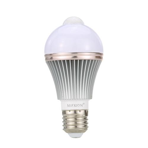 5W LED Bulb Light Intelligent Control PIR Motion Sensor E27 Base SMD5730 AC85V-265V