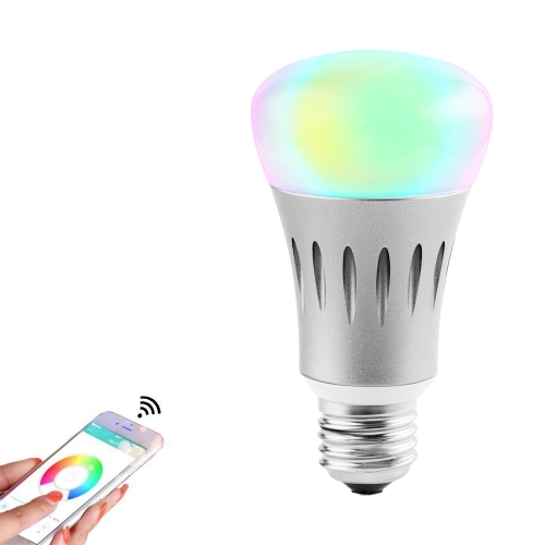 7W E27 RGBW LED WIFI Bulb Smart Light Wireless APP Remote Control + Voice Control