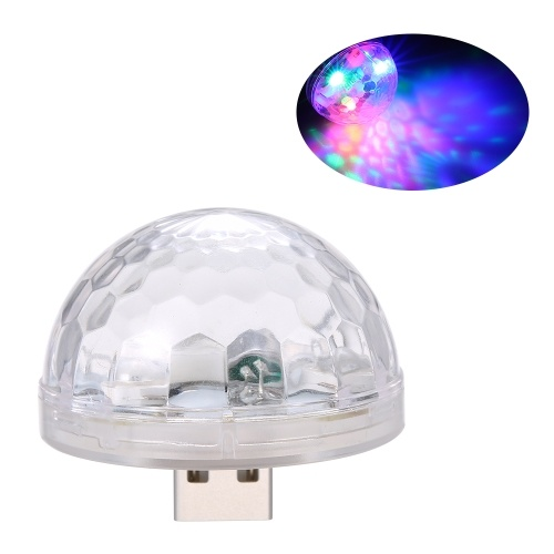 3LEDs USB RGB Colorful Neon Light Stage Lamp