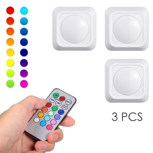 Cor de 4.5V 1W RGB que muda luzes do disco do diodo emissor de luz
