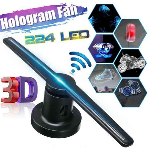 Голографическая машина дисплея проекции вентилятора дисплея рекламы 3D репроектора с функцией WiFi