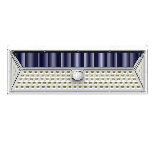 126 LEDs Solar Light Wall Mounted Lamp Lighting and PIR Motion Sensor Lamp