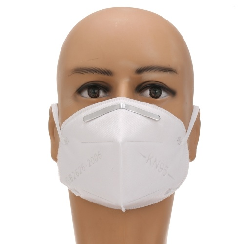 TOMTOP / 5PCS Disposable KN95 Mask with Breathing Valve