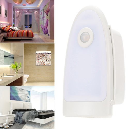 Body PIR Motion Induction Lighting Sensor LED Night Light Detachable Flashlight Torch Rechargeable Emergency Wall Lamp
