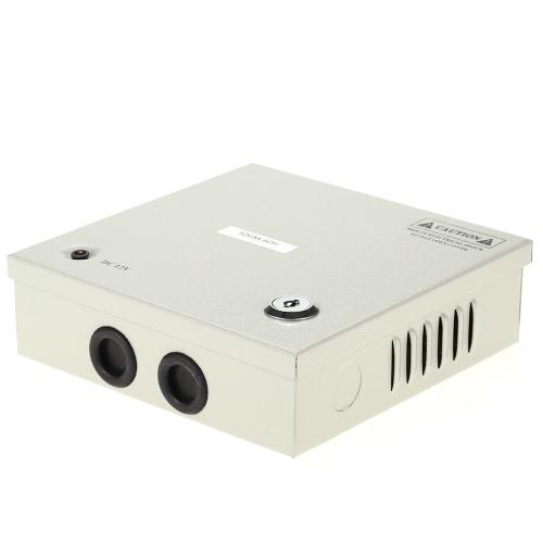 4CH AC100-240V Zum DC12V 3A 36W LED-Treiber Stromversorgung Box Adapter Transformator für CCTV-Überwachungskamera LED-Streifen-Schnur-Licht