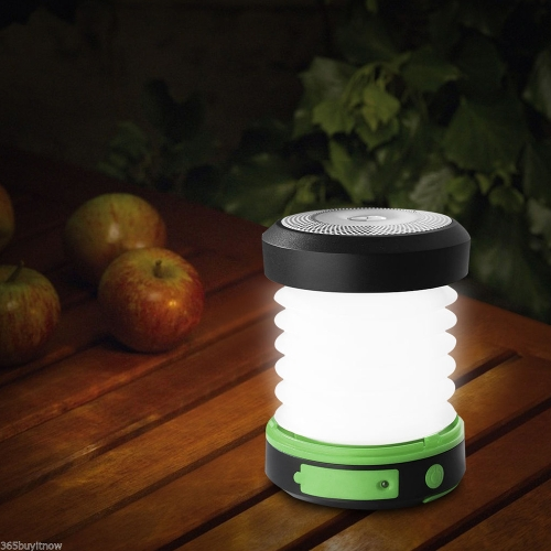 Solar Powered USB wiederaufladbare LED Camping Laterne Licht