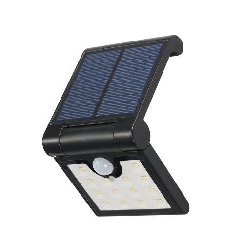 14LEDs Складная солнечная электрическая лампа с датчиком движения PIR