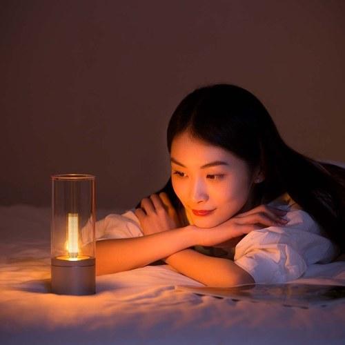 Original Xiaomi Yeelight YLFW01YL intelligente Atmosphäre Candela Licht - warmes weißes Licht (internationale Version)