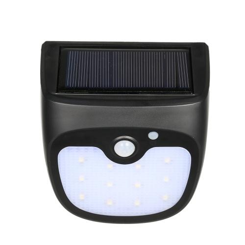 12LEDs солнечный перезаряжаемый датчик движения Night Security Wall Lights