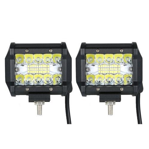 2шт 60W 6000K Автомобиль Light Light для управления автомобильным освещением