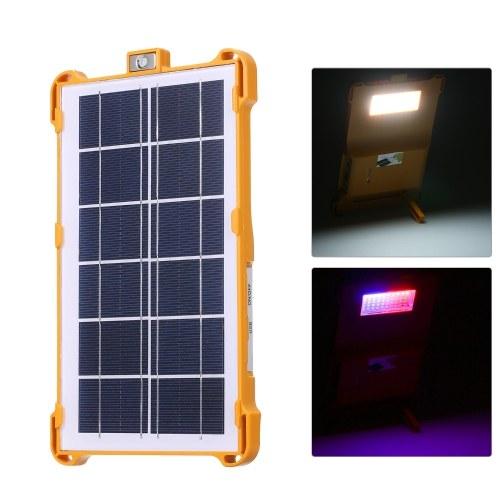 Солнечные Многофункциональные светодиоды Рабочий свет Перезаряжаемый уличный фонарь с портом USB для кемпинга Рыбалка Ремонт автомобилей