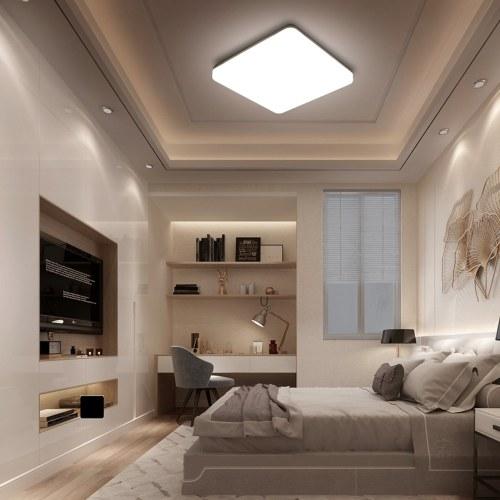 Tomshine 100-265V 24W LED Deckenleuchte IP65 Wasserdichte 4000k natürliche weiße Beleuchtung für Wohnküche Balkon Korridor Flur