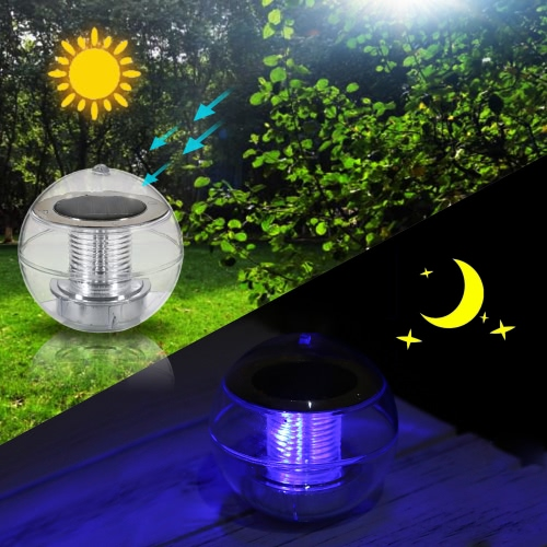 IP65 Solar Powered LED Water Floating Ball Lamp