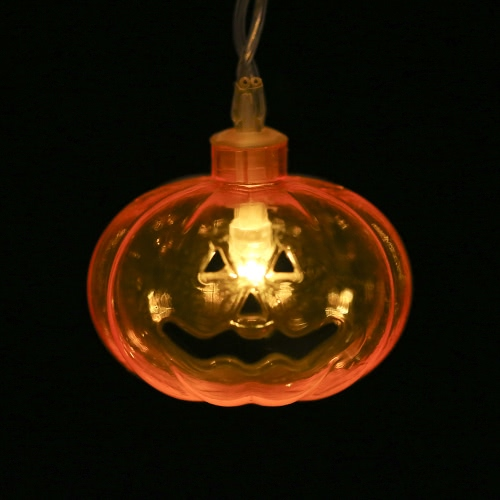 20LEDs 8.2ft Mini Pumpkin String Light Battery-powered Fairy Lamp for Halloween Christmas Party Festival Decoration