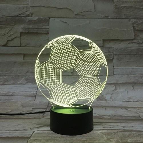 Светодиодный ночной светильник с подсветкой для 3D-футбола