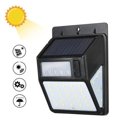 Солнечная энергия PIR Motion Lamp CDS Ночной датчик Светодиодный настенный светильник