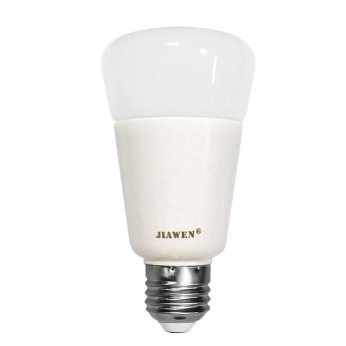 JIAWEN 9W E27 RGBW Intelligent Bulb Wireless APP Control(Zigbee Version)