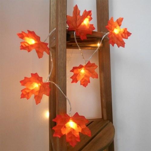 DC12V 2W 3 mètres 20 LED Maple Design Fairy String Light