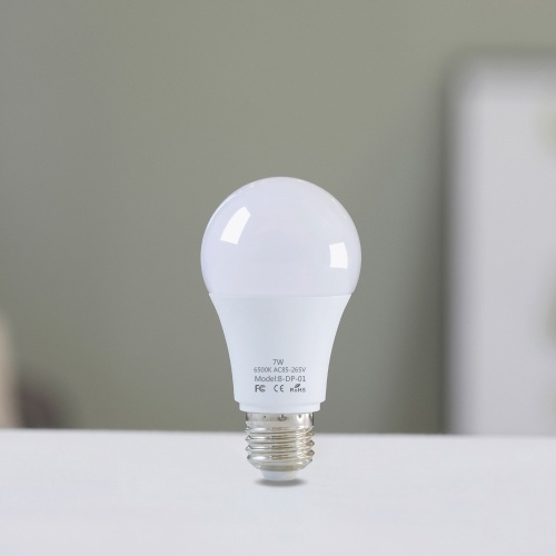 2PCS E27 7W bombilla LED con sensor de movimiento
