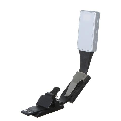 DC 5V 0.5W USB wiederaufladbare Mini LED Clip Lampe Licht