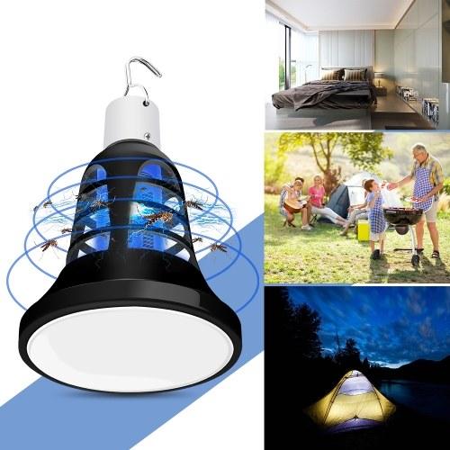 DC5V E27白+ UV紫蚊キリングランプ
