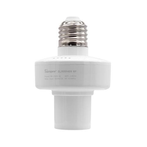 SONOFF Slampher ITEAD Intelligente Glühlampenfassung 433MHz RF und WiFi Home Lampensockel