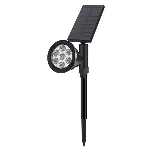 IP65 Color Fixing + Colorful Transformation 7 LED Outdoor Waterproof Solar Colorful Spotlight
