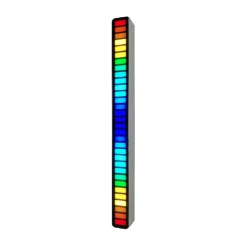Красочная, чувствительная к звуку музыкальная атмосфера Огни Разноцветная светодиодная декоративная лампа со звуковой активной функцией