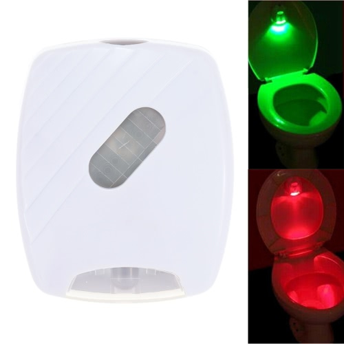 LED-Human Motion Activated PIR Lichtsensor Toilette Lampe