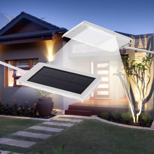 15 diod LED Solar Powered Ultra-cienki Wodoodporny Lekkie Wall Street