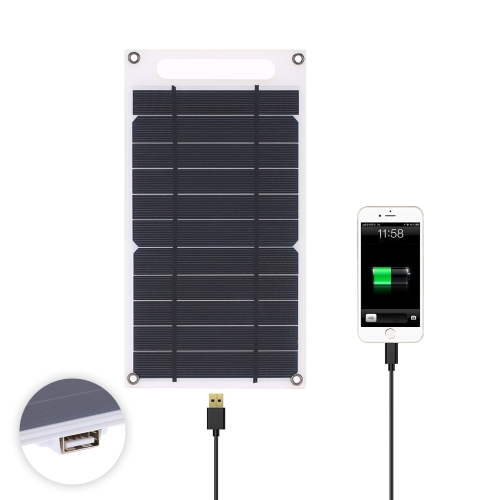 7.8W Portable Ultra Thin Monocrystalline Silicon Solar Panel Charger