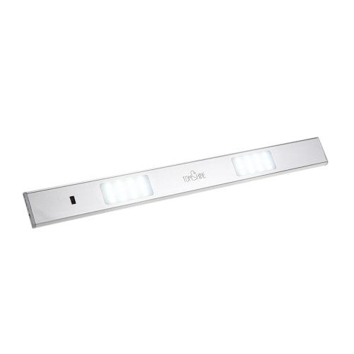 Tomshine 3W Алюминиевый сплав Поверхность Ультратонкий Разработанный перезаряжаемый яркий светодиод, активированный датчиком движения руки для шкафа для гардероба Шкаф для одежды Шкаф для ванной комнаты