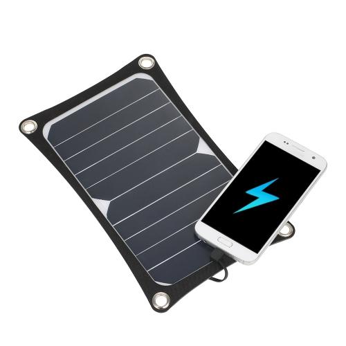 Cargador ultra fino portátil del panel solar de 6W 3000mAh USB
