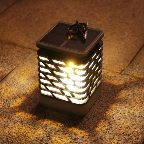 9LEDs Солнечная энергия Энергия Открытый Танцы Мерцающий Свеча Визуальный Эффект Лампа