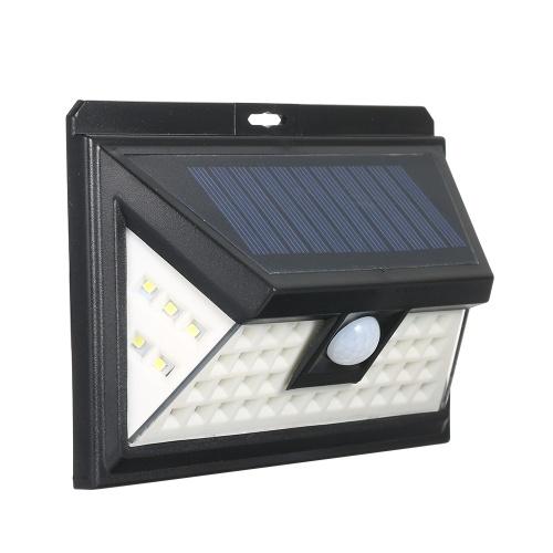 44 светодиода Солнечная энергия PIR Датчик движения
