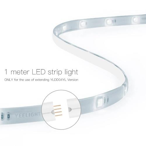 Xiaomi Yeelight YLOT01YL 1 metros de cable extendido de tira de luz (para el uso de la versión YLDD04YL de extensión)