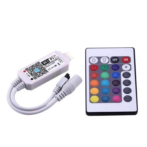 DC5-28V 144W (макс.) Интеллектуальный контроллер RGB WIFI с дистанционным управлением