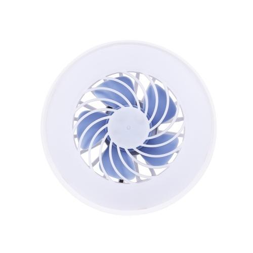 85-220 В E27 12 Вт Мини Вентилятор Свет Вентилятор 3 Режима для Спальни Гостиная Настольная Лампа Освещения