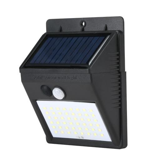 48 LEDs IP65 Solar Panel Motion Detection Lamp