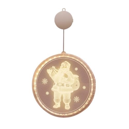 Lampada a sospensione natalizia per interni, per esterni, per feste, per finestre, per la decorazione della parete