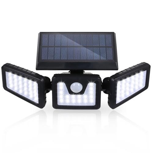 Tomshine 70 LEDs Solar Powered PIR Motion Sensor Wall Street Light
