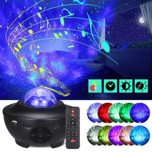 Tomshine Starry Projector Light with Remote Control Adjustable 21 Lighting Modes