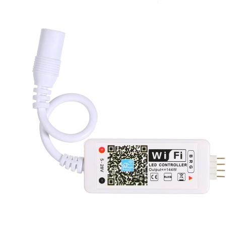 Tomshine DC5-28V Mini RGB Wifi Smart Controller Dimmer for LED Strip Light