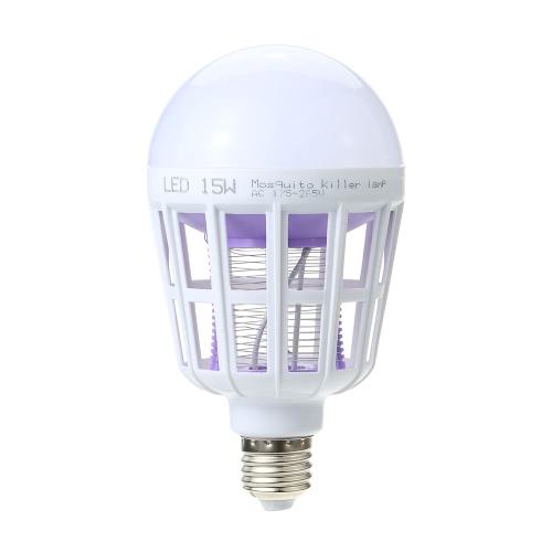 Fashionable LED Bulb Super Bright Anti-Mosquito Light E27 Insect Zapper Birdcage Shape Flying Moths Killer Light Lamp Bulb