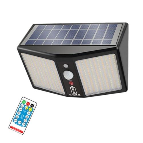 Solar Wandleuchte Kaltweiß / Weiß / Warmweiß Licht Farbe IP65 Wandmontage / Hängende Installation Controller / Tastenbedienung